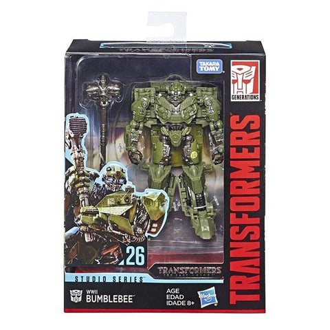 Transformers Studio Series 26 WWII Bumblebee Deluxe Box package