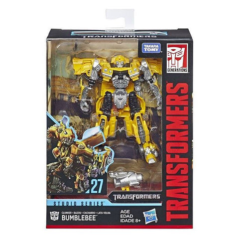 Transformers Studio Series 27 Deluxe Clunker Bumblebee Camaro Box Package