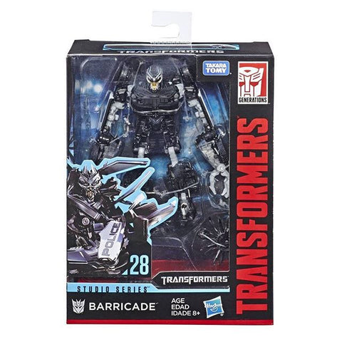 Transformers Movie Studio Series 28 Deluxe Barricade package box