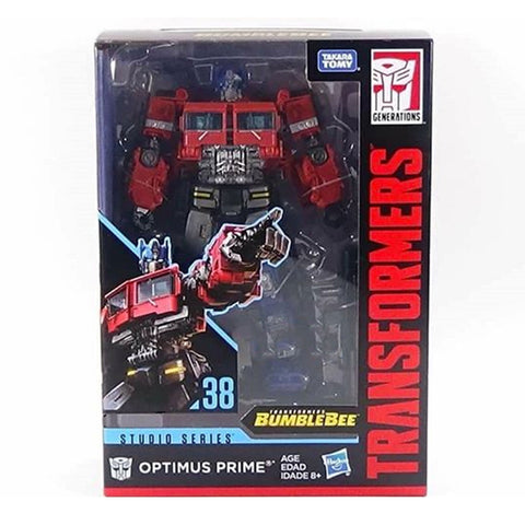 Transformers Studio Series 38 Voyager G1 Optimus Prime Box Package Front