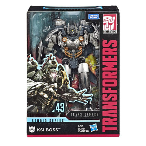 Transformers Movie Studio Series 43 Voyager KSI Boss Package box