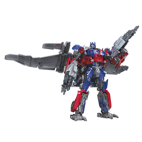 Transformers Movie Studio Series 44 Leader Class DOTM Optimus Prime Jetpack Robot Render