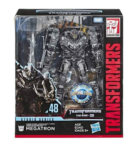 Transformers Movie Studios Series 48 Megatron Universal Studios Exclusive Box Package