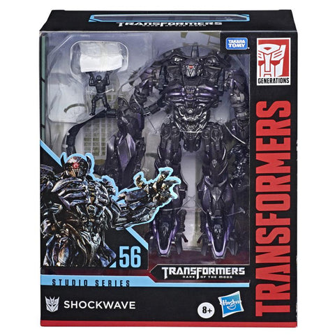 Transformers Studio Series 56 DOTM Shockwave Brains Wheelie Box Package