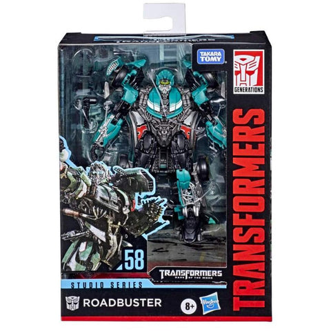 Transformers Studio Series 58 Deluxe Wrecker Roadbuster DOTM Box Package