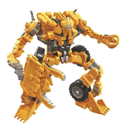 Transformers Movie Studio Series 60 Constructicon Scrapper Robot Render