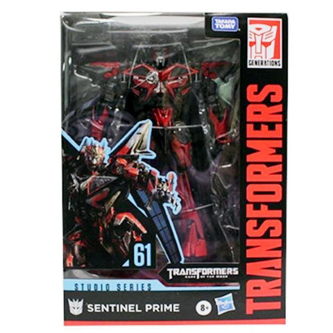 Transformers Movie Studio Series 61 Voyager Sentinel Prime Box Package