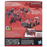 Transformers Studio Series 56 Leader Class ROTF Constructicon Overload Box Package Back