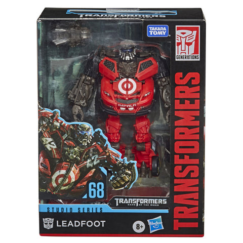 Transformers Movie Studio Series 68 deluxe wrecker leadfoot package box front photo