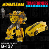 Transformers Movie Studio Series 70 Deluxe B-127 Cybertronian Bumblebee yellow robot toy promo