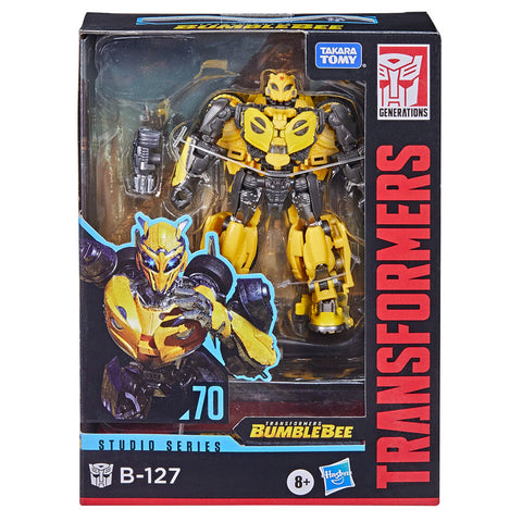 Transformers Movie Studio Series 70 Deluxe B-127 Cybertronian Bumblebee box package front