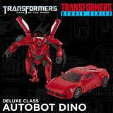 Transformers Movie Studio Series 71 Deluxe Dino DOTM action figure toy car promo