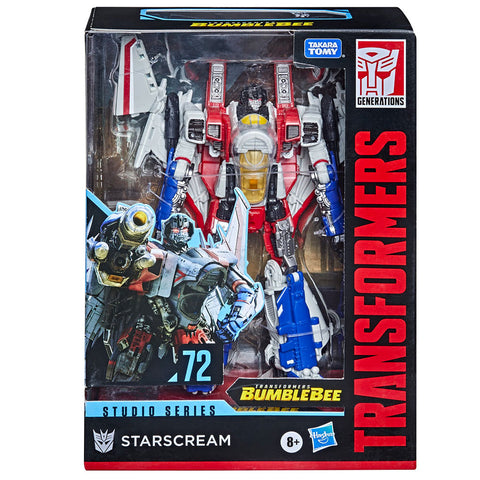Transformers Movie Studio Series 72 Voyager Starscream Cybertronian Bumblebee Film box package front