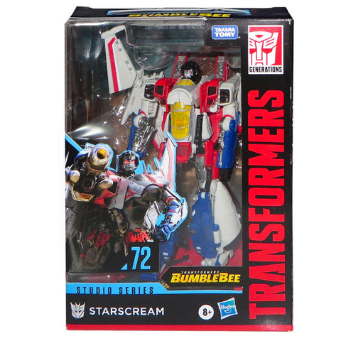 Transformers Movie Studio Series 72 Voyager Starscream Cybertronian Bumblebee Film box package front photo