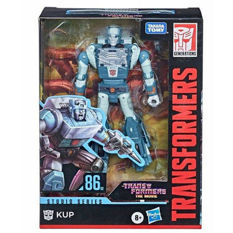 Transformers movie studio series 86-02 deluxe kup box package front
