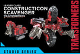 Transformers Movie Studio Series 55 Leader Constructicon Scavenger Hasbro Reveal