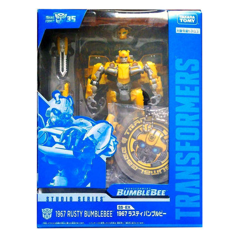 Transformers Studio Series SS-EX 1967 Rusty Bumblebee Deluxe VW car Box Package