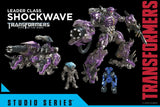 Transformers Studio Series 56 DOTM Shockwave Hasbro Reveal