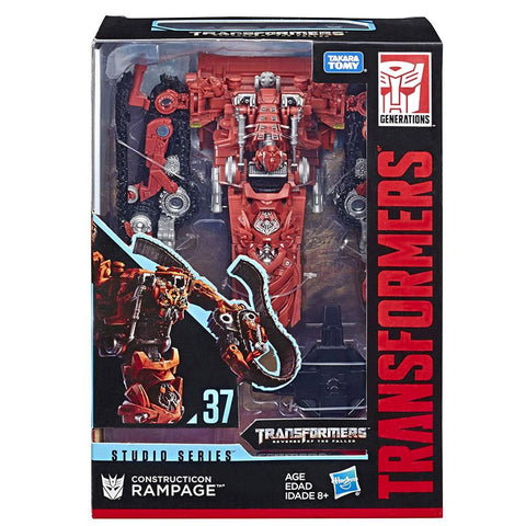 Transformers Movie Studio Series 37 ROTF Constructicon Red Rampage Box Package