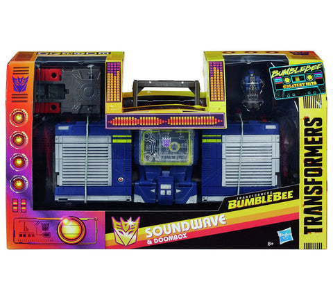 Transformers Movie Soundwave and Doombox packaging Sealed