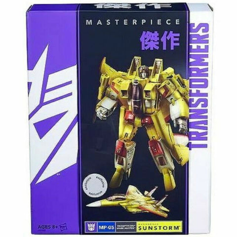 Transformers Masterpiece MP-05 Decepticon Spark Hunter Sunstorm Box Package Front Hasbro USA Toys R Us