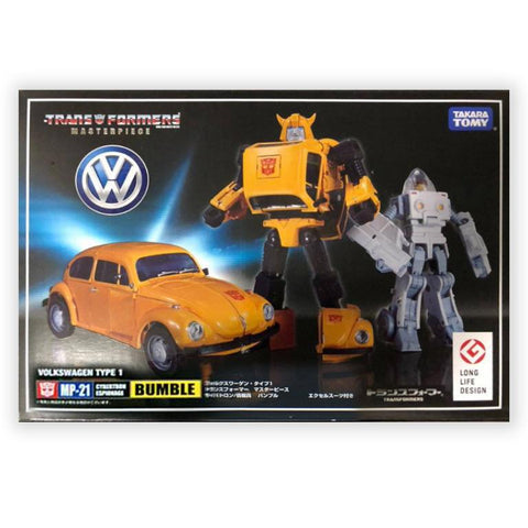 Transformers Masterpiece MP-21 Bumblebee and Spike Reissue Box