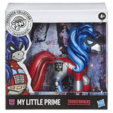 Transformers x My Little Pony crossover collecticon Optimus Prime Box Package Front