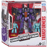 Transformers Netflix War for Cybertron Voyager Hotlink heartburn heatstroke box package front