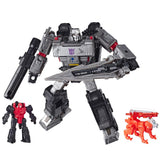 Transformers Netflix War for Cybertron Trilogy Megatron 3-pack Captive Lionizer Pinpointer Robot Toy