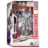 Transformers Netflix War for Cybertron Deluxe Decepticon Mirage Box Package Front