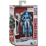 Transformers Netflix War for Cybertron Trilogy Deluxe Chromia Box Package Front