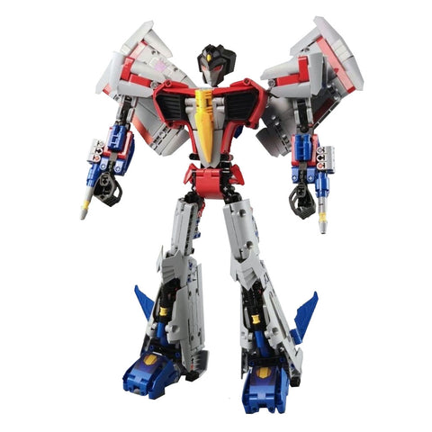 Transformers Nezha China Cyberverse Starscream Xioami robot brick build toy