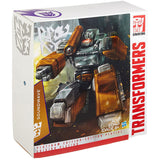 Transformers Platinum Edition Year of the Goat Soundwave Clear Masterpiece Toys R Us Hasbro USA box package Front Angle