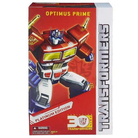 Transformers Year of the Horse Platinum Edition Thrilling 30 number 12 Masterpiece MP-10 Optimus Prime Box Package Closed
