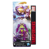 Transformers Power of the Primes Legends Class Cindersaur package box