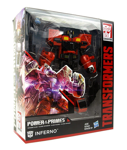 Power of the Primes Voyager Inferno box Transformers
