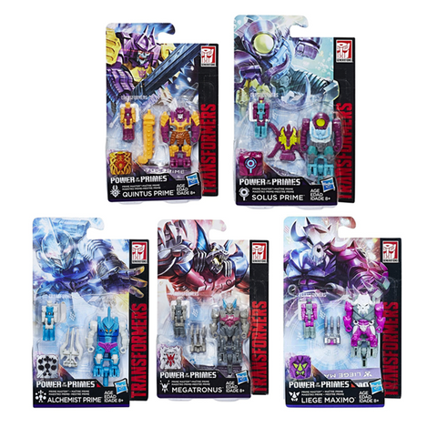 Transformers Power of the Primes POTP Decepticon Prime Masters bundle