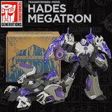 Transformers Prime 10th Anniversary Darkness Hades Megatron Reissue promo