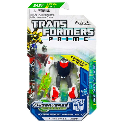 Transformers Prime Cyberverse Legion Class 2 010 Hyperspeed Wheeljack Gravimetric Blaster Box Package Front