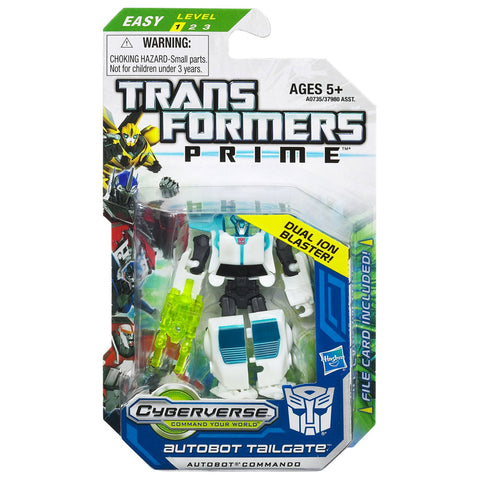 Transformers Prime Cyberverse Legion Class 2 014 Tailgate Autobot Commando Box Package Front