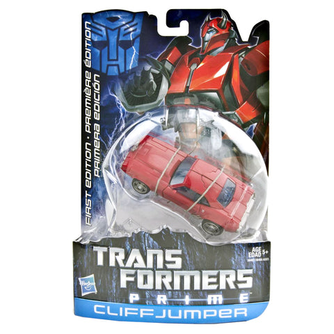 Transformers Prime First Edittion 004 Cliffjumper Multilingual Box Package Front Canada Hasbro