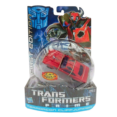 Transformers Prime First Edition 005 Terrorcon Cliffjumper Box Package Front Hasbro USA