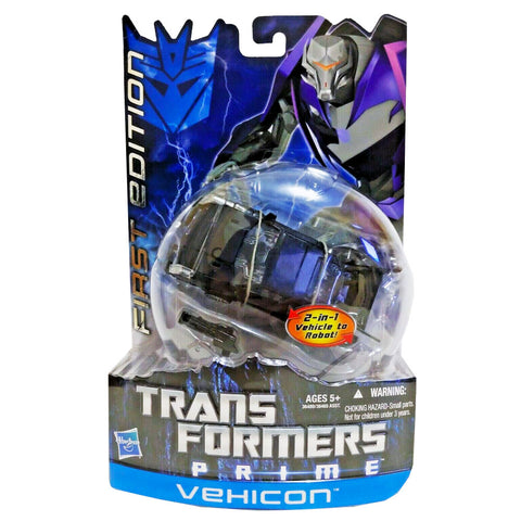 Transformers Prime First Edition 006 Deluxe Vehicon Hasbro USA Box Package Front