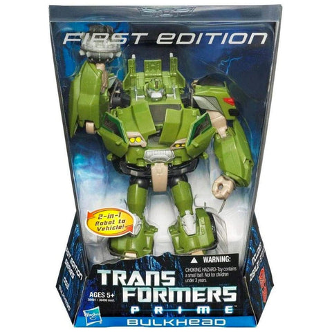 Transformers Prime First Edition 002 Voyager Bulkhead Hasbro USA Box Package Front