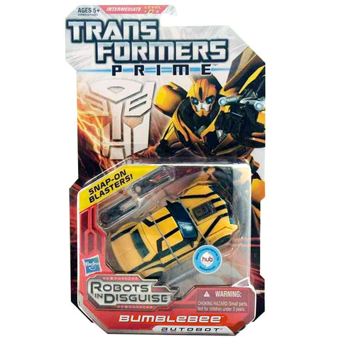 Transformers Prime Robots In Disguise Deluxe Bumblebee Box Package Front