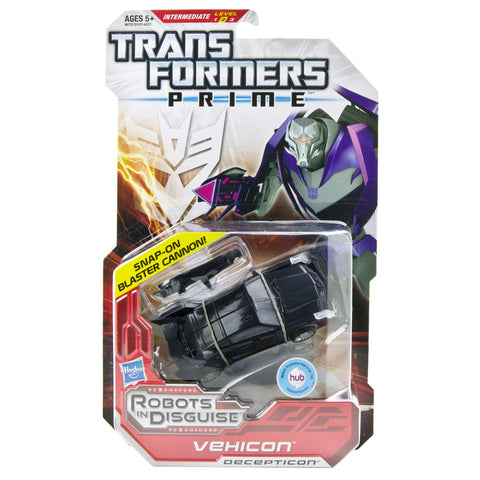 Transformers Prime Robots In Disguise Deluxe 008 Vehicon Snap-on Blast Cannon Box Package Front