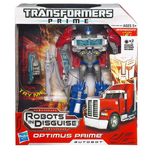 Transformers Prime Robots In Disguise Voyager 001 Optimus Box Package Front Hasbro