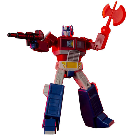 Transformers Red Series G1 Optimus Prime 6-inch action figure toy