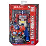 Transformers R.E.D. Series G1 Optimus Prime 6-inch box package front