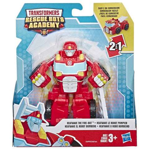 Transformers Rescue Bots Academy Heatwave the Fire-bot Rescan Series Box Package